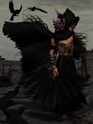 The Raven Kin - Ciaran by portisHeart