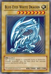 Blue-Eyes White Dragon - Test by ChromeJailer