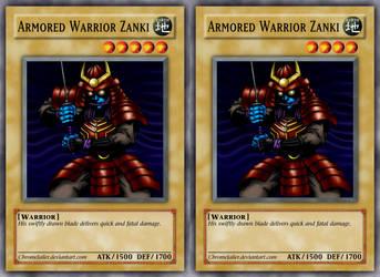 Armored Warrior Zanki Rework by ChromeJailer