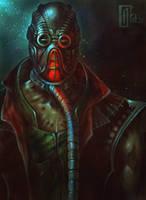 Kabal (Mortal Kombat) by AlexCarroty