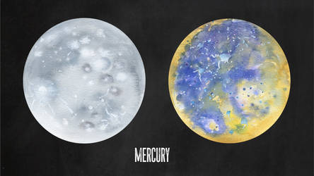 Two Views of Mercury by Jlombardi