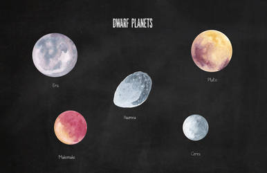 The Dwarf Planets by Jlombardi