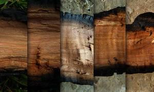 Burned wood - texture pack by raduluchian
