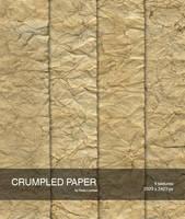 Crumpled paper 2 by raduluchian