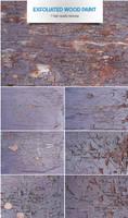 Exfoliated wood paint by raduluchian