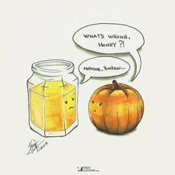 What's wrong honey? by raduluchian