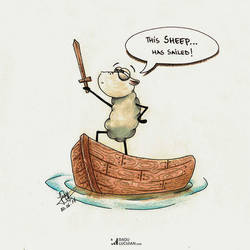 This sheep has sailed by raduluchian