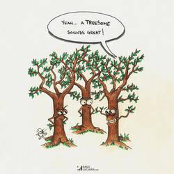 Treesome by raduluchian