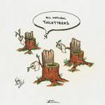 Toilettrees by raduluchian