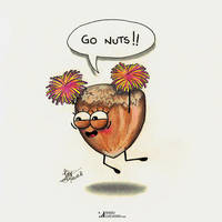 Go nuts by raduluchian