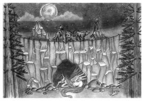 The hunt by raduluchian