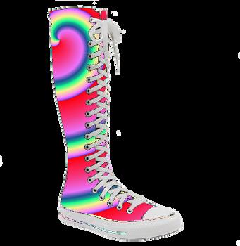 c55ca2b9af7 Rainbow Converse shoes by PrincessBetty1 on DeviantArt