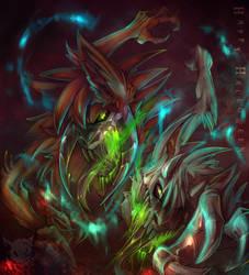 Halloween 2015 - Crawler Brothers Speedpaint by SpyxedDemon