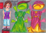 A Little Gibson Girl Paper Doll by KilmenyReade