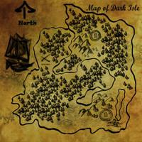 Dark Isle Map by KilmenyReade