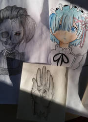 A Few Drawings by Lady-Rosa-chan