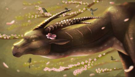 Goddess of Spring by zagiir