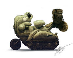 Portfolio booster - vehicle 1 by jeffsimpsonkh