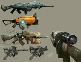 Guns....Lot's of guns... by jeffsimpsonkh