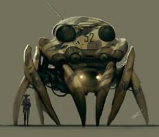 G.E.C. Crawler by jeffsimpsonkh