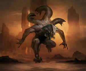 Haste Creature Thing by jeffsimpsonkh