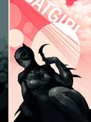 _ Bat Girl _ by jeffsimpsonkh