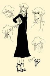 Isa Sketch by Nadin-Black