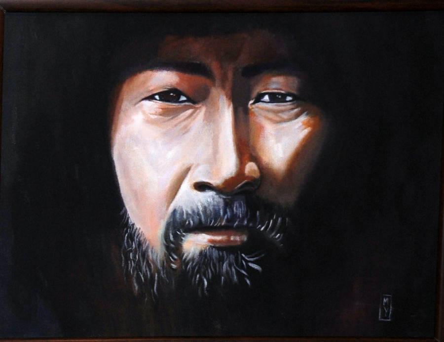 Genghis Khan As A Wise Man By Bashibozuk On Deviantart