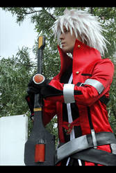 Ragna The Bloodedge cosplay 3 by Elffi