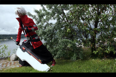 Ragna The Bloodedge cosplay 6 by Elffi