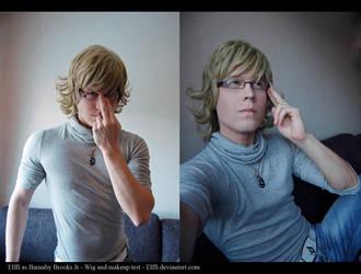 Barnaby Brooks Jr. - Makeup and wig testing~ by Elffi