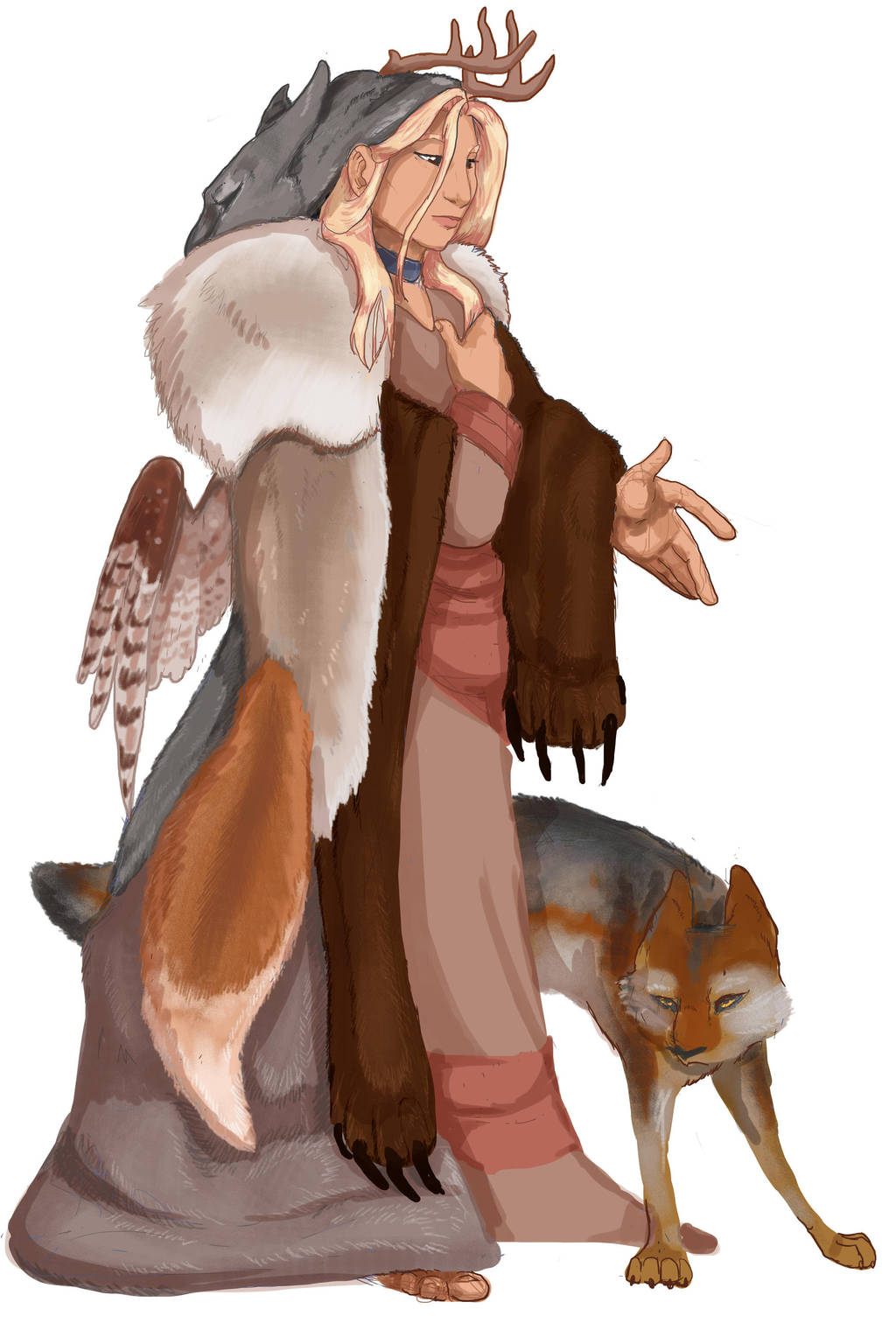 Woodwife- Tattercoat- (LadyPipen) by xaotl