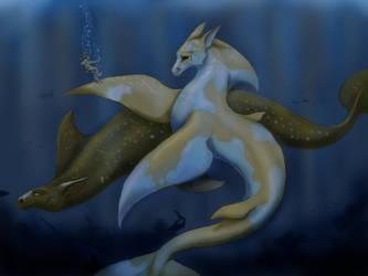 Hippocampi by xaotl