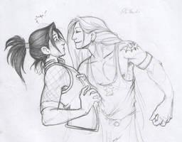 Shen and 'Shika' by xaotl