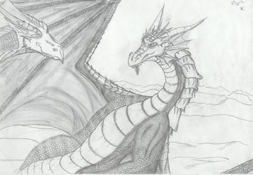 Avalon and James Dragon by Avalon-the-Dragon