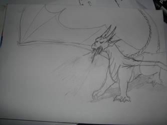Pasc Dragon by Avalon-the-Dragon