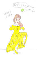 Hypno-Doggish Belle by Jose-Ramiro