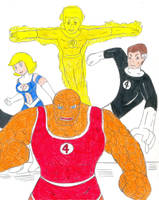 Fantastic Four by Jose-Ramiro