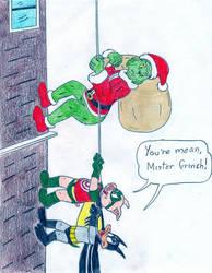 Batduck and Decoy- Grinch by Jose-Ramiro