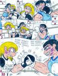 Boxing Angelica vs Eva - 3 by Jose-Ramiro