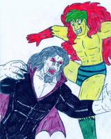 Morbius vs The Creeper by Jose-Ramiro