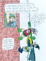 Christmas - Batduck, Decoy and Linus by Jose-Ramiro
