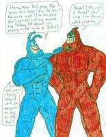 Crimson Chin's Mentor by Jose-Ramiro
