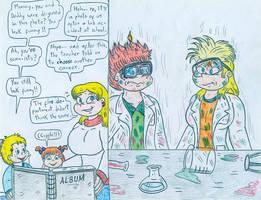 Angelica's Album - Lab Accident by Jose-Ramiro