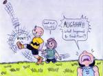 Kicking The Football by Jose-Ramiro