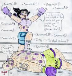 Boxing Savannah vs Craig Marduk by Jose-Ramiro