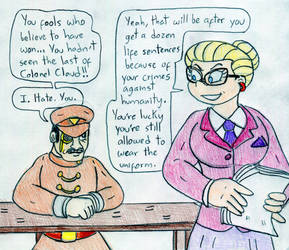 Attorney Angelica and Colonel Claude by Jose-Ramiro