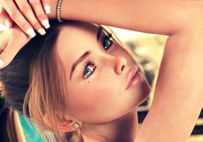 Her eyes by Elyzian