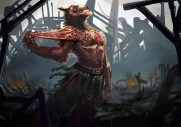 werewolf by EleMont