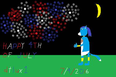 Happy 4th of July 2016! by dtlux2